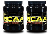 1 + 1 Zdarma: BCAA Instant Drink od Best Nutrition 300 g + 300 g Citrón+Mint