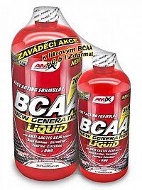1 + 1 Zdarma: BCAA New Generation Liquid - Amix 1000 ml + 500 ml  Lemon-Lime