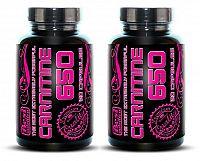 1 + 1 Zdarma: Carnitine 650 od Best Nutrition 120 kaps. +  120 kaps.