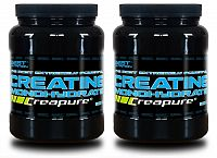 1 + 1 Zdarma: Creatine Monohydrate Creapure od Best Nutrition 300 g + 300 g