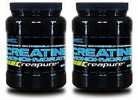 1 + 1 Zdarma: Creatine Monohydrate Creapure od Best Nutrition 500 g + 500 g