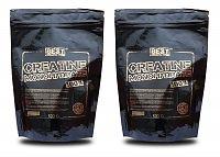 1 + 1 Zdarma: Creatine Monohydrate od Best Nutrition 1,0 kg + 1,0 kg