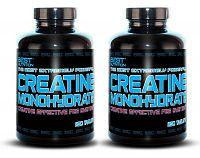 1 + 1 Zdarma: Creatine Monohydrate Peg System od Best Nutrition 250 tbl. + 250 tbl.
