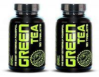 1 + 1 Zdarma: Green Tea od Best Nutrition 120 tbl. + 120 tbl.