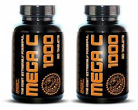 1 + 1 Zdarma: Mega C 1000 od Best Nutrition 90 tbl. + 90 tbl.