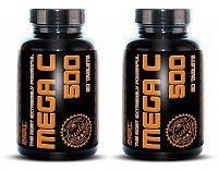 1 + 1 Zdarma: Mega C 500 + šipky od Best Nutrition 90 tbl. + 90 tbl.