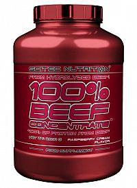 100% BEEF Concentrate - Scitec 2000 g Malinový krém