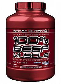 100% BEEF Muscle - Scitec 3180 g Vanilka