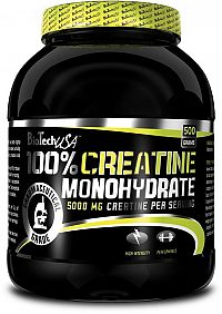 100% Creatine Monohydrate - Biotech USA 500 g sáčok