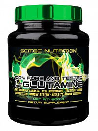 100% Pure L-Glutamine - Scitec 600 g