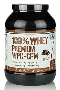 100% Whey Premium WPC-CFM - Body Nutrition 2250 g Chocolate-Raspberry