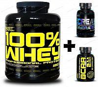 100% Whey Professional Protein - Best Nutrition 2250 g Jahoda