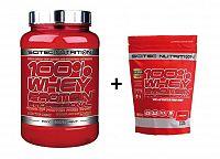 100% Whey Protein Professional - Scitec 2350 g Čokoláda Peanut Butter