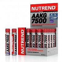 AAKG 7500 od Nutrend 25 ml Blackcurrant