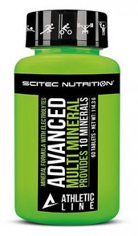 Advanced Multimineral Athletic Line - Scitec 60 tbl.