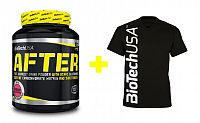 Akce: After + Pánské triko - Biotech USA 630 g + tričko M Cherry