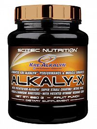 Alkali-X - Scitec 660 g Fruit Punch