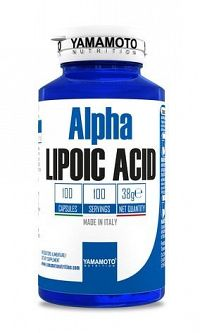 Alpha Lipoic Acid - Yamamoto 100 kaps.