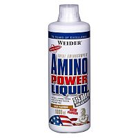 Amino Power Liquid - Weider 1000 ml Cranberry