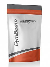 Anabolic Whey - GymBeam 1000 g Strawberry