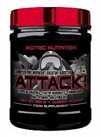 Attack 2.0 - Scitec 25 x 10 g Cherry