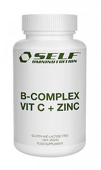 B-COMPLEX VIT C + ZINC - Self OmniNutrition 60 kaps.