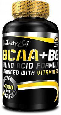 BCAA + B6 - Biotech USA 340 tbl.