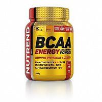 BCAA Energy Mega Strong Powder - Nutrend 500 g Orange
