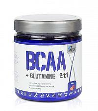 BCAA + Glutamine 2: 1: 1 - Body Nutrition 400 g Jahoda