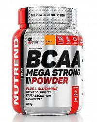 BCAA Mega Strong Powder od Nutrend 500 g Pomaranč