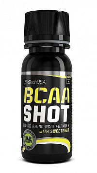 BCAA Shot - Biotech USA 60 ml. Limetka