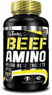 Beef Amino - Biotech USA 120 tbl.
