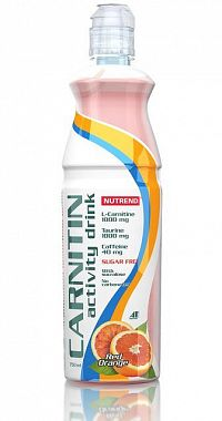 Carnitin Activity Drink s kofeinem od Nutrend 1ks/750ml Mix Berry