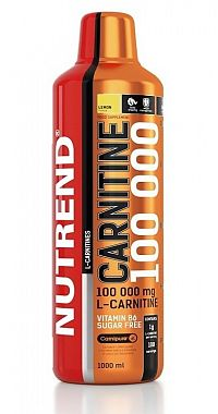 Carnitine 100 000 od Nutrend 1000 ml. Citrón