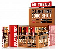 Carnitine 3000 Shot od Nutrend 60 ml. Jahoda