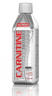 Carnitine 60 000 + synefrinu od Nutrend 500 ml. Žltá malina