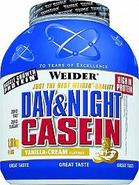 Day & Night Casein - Weider 1800 g Vanilla Cream