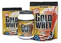 Delicious Gold Whey Protein 80% - Weider 2000 g sáčok Coconut+Cookie