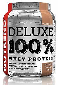 Deluxe 100% Whey Protein - Nutrend 2250 g Čokoláda + lieskový orech