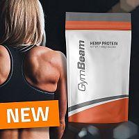 Hemp (Konopný) Protein - GymBeam 1000 g Chocolate