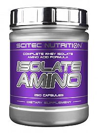 Isolate Amino - Scitec 250 kaps