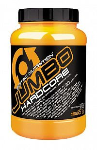 Jumbo Hardcore od Scitec 6120 g Brittle white chocolate