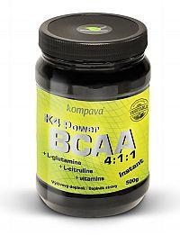K4 Power BCAA 4: 1: 1 od firmy Kompava 500 g Kiwi