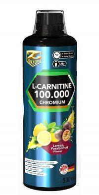 L-Carnitine 100 000 chromium liquid od Z-Konzept 500 ml. Lemon-Passionfruit