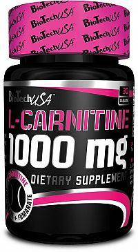 L-Carnitine 1000 - Biotech USA 30 tbl