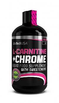 L-Carnitine 35000 mg + Chrome 5mg - Biotech USA 500 ml Grapefruit
