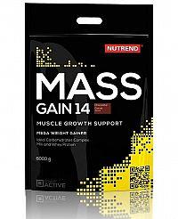 Mass Gain 14 od Nutrend 6000 g Jahoda