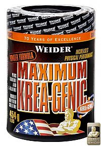 Maximum Krea-Genic práškový - Weider 454 g +100 g
