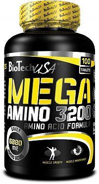 Mega Amino 3200 - Biotech USA 100 tbl