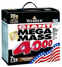Mega Mass 4000 - Weider 3,0 kg Čokoláda